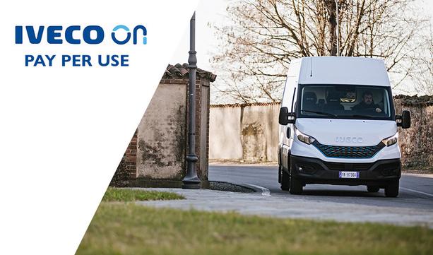 IVECO ON wprowadza Pay Per Use obniżając koszty serwisowania pojazdów